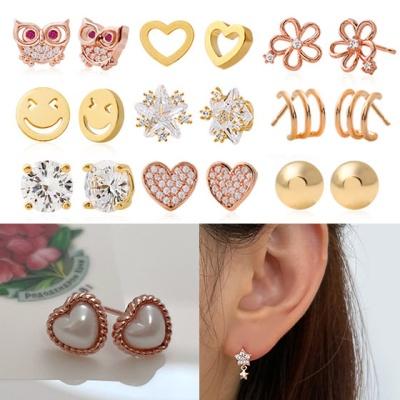 인기 귀걸이 추천 드롭형 링 아이템 (14KGF핀 귀걸이)