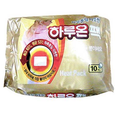 국내생산 하루종일 따뜻한 하루온 핫팩 10통(100팩)