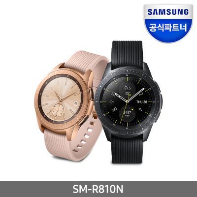 삼성 갤럭시워치 42mm 방수 스마트워치 시계 SM-R810N