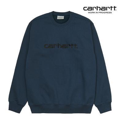 칼하트WIP Carhartt Sweatshirt (Admiral / Black)