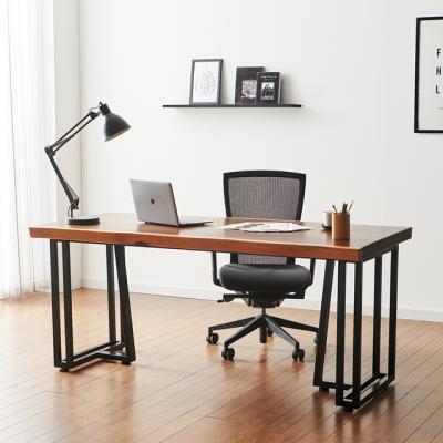 코디 2000x800 우드슬랩 책상 원목 테이블