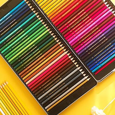 아르누보 수채색연필 72색 틴케이스