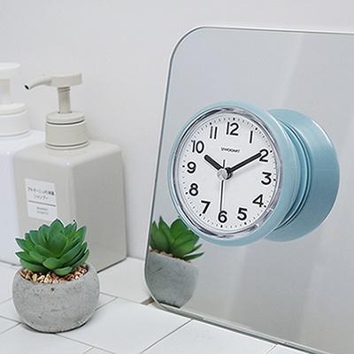 [시우아트] 베이직 욕실시계 (흡착/방수)
