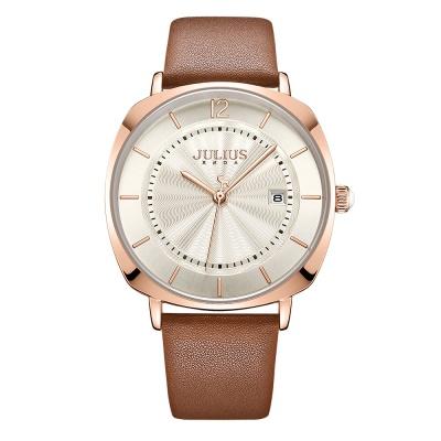 [쥴리어스공식] JA-1190M 남성시계 가죽시계 커플시계