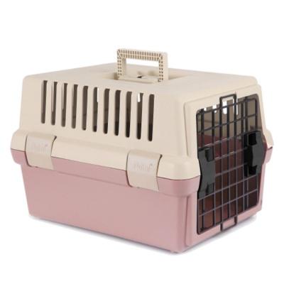 강아지 고양이 안전 고급 간편 이동장 인디핑크