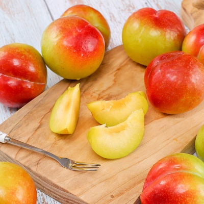 신선플레이 추희 자두 3kg 21-24과 왕특 과일선물
