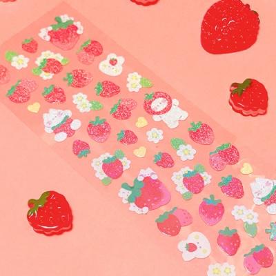 [오 젤리게임]MANTA BOX_트윙클 딸기파티 칼선 스티커