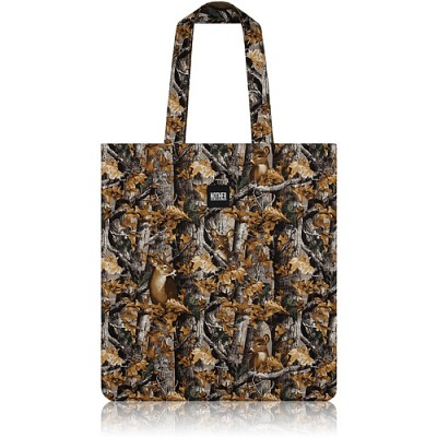 nother Deer Camouflage Flat Tote (Woods) / 나더 사슴 카모플라쥬 플랫 토트백 (Realtree®)