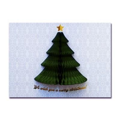 허니콤 크리스마스 녹색트리