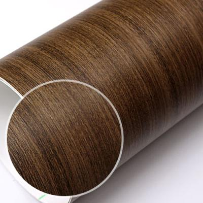 fp209-러프빈티지다크브라운 무늬목 필름지 인테리어필름 _인테리어필름