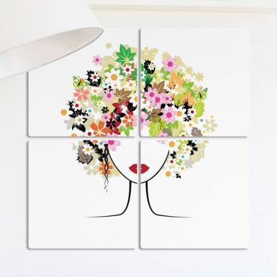 ib452-멀티액자_꽃처럼아름다운머리