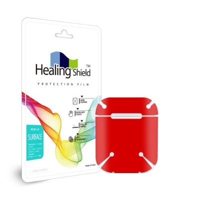 에어팟 2세대 레드 외부보호필름 세트 2매(HS261)