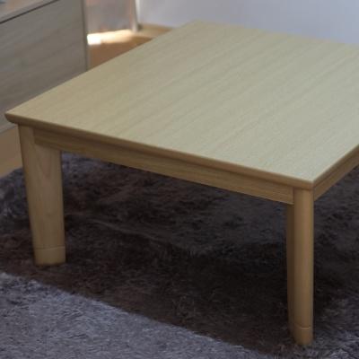 정방형 코타츠 테이블 JCW-80 라이트브라운