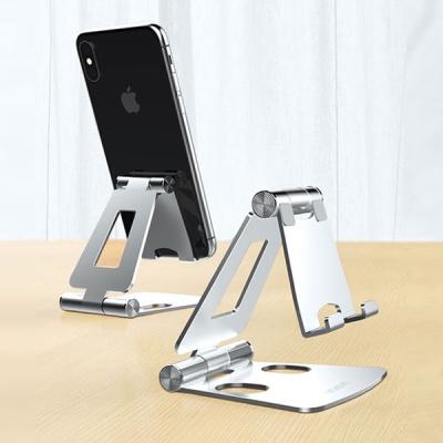 더블조인트 알루미늄 스탠드 스마트폰 거치대 접이식