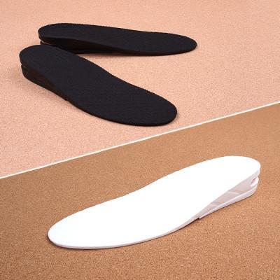 키높이 쿠션 깔창 3cm 에어 2단 블랙 화이트 남성용 JZ1011