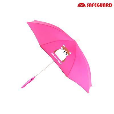 세이프가드 아동용 우산 너구리_분홍색