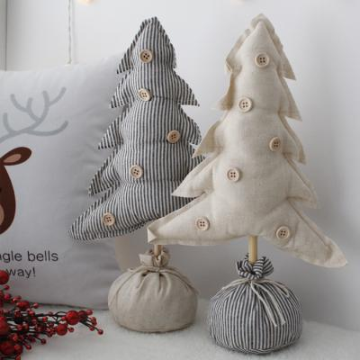 크리스마스 패브릭 트리장식 - 2color