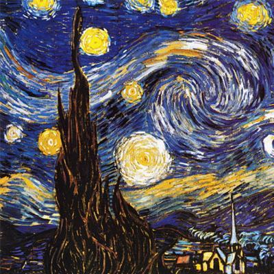 별이 빛나는 밤에 [1000피스/직소퍼즐/명화/PL1324]