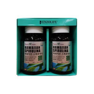 팜그린 스피루리나 2종 선물세트
