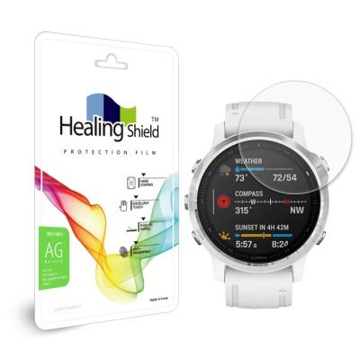 가민 피닉스6S 저반사 지문방지 액정보호필름 2매