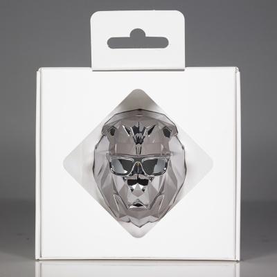 [센트몬스터] LONELY LION 차량용 방향제 White Pack