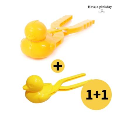 [1+1] 오리집게 스노우메이커 (큰오리+작은오리)