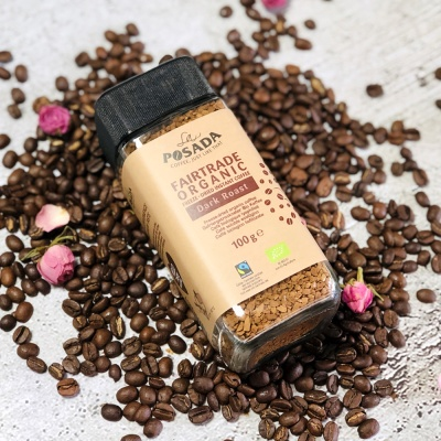 라포사다 공정무역 유기농 다크 로스트 커피 100g