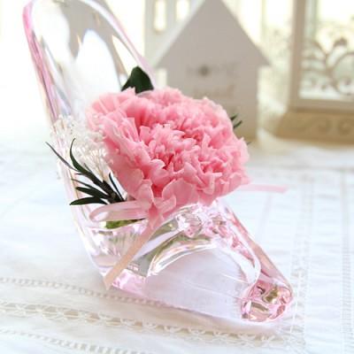 [더봄/프리저브드플라워] 유리구두 카네이션 - 핑크