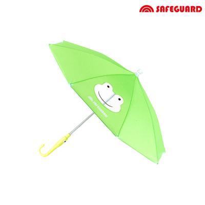 세이프가드 유아용 우산 개구리_녹색