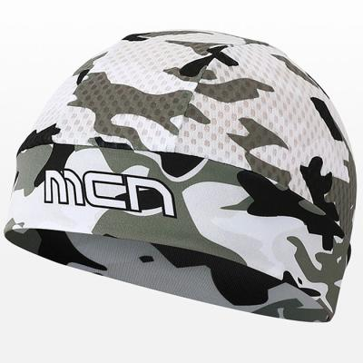 헬멧안에 착용하는 MESH SKULL CAP 카모 화이트