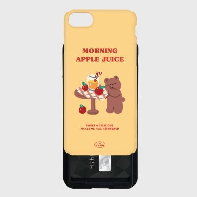 yellow gummy apple juice 카드슬라이드 케이스