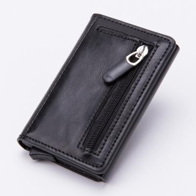 RFID차단 내추럴 가죽 카드지갑