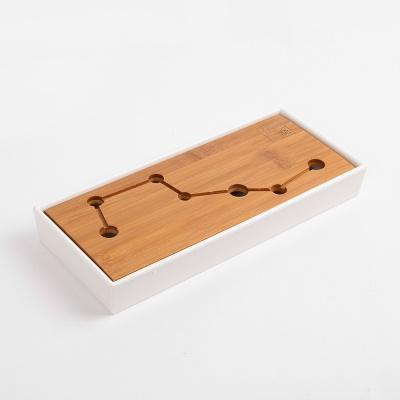 티앤차 직사각 다기트레이 차판(28x12cm)