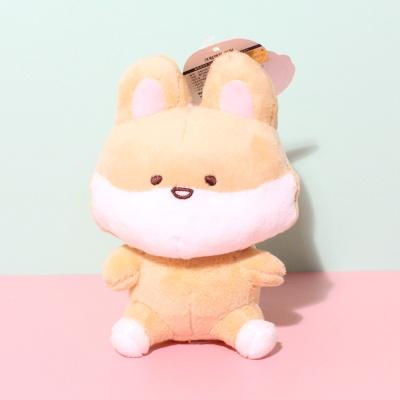 국내 캐릭터 크림여우 정품 가방걸이 인형