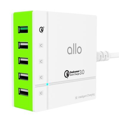 알로코리아 QC3.0 퀵차지 고속 멀티충전기 UC401QC30