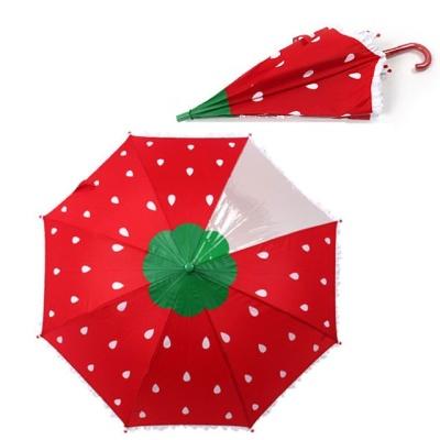 라프롬나드 53 딸기 우산 어린이 학생 장우산 7세이상