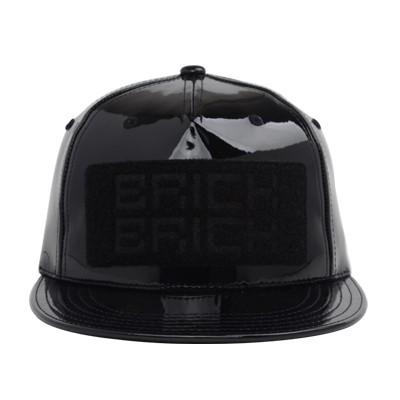 BRICKBRICK BLACK PU CAP