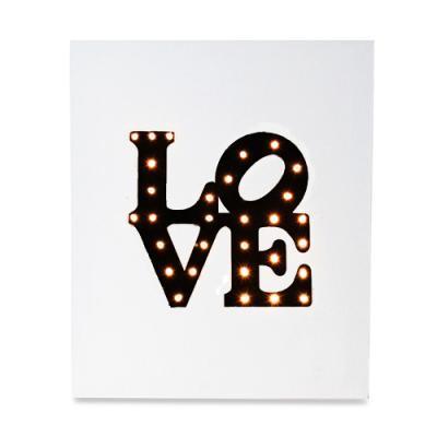 LOVE(미국) 캔버스조명 DIY KIT