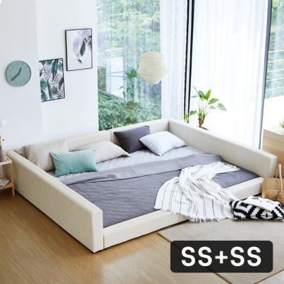 모닝듀 쿨잠패밀리침대 가족형-2SS+SS(양면매트)OT045