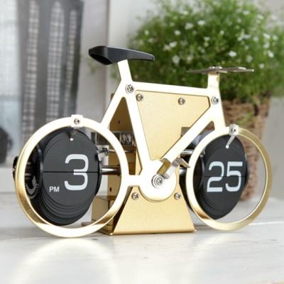 자전거 플립 탁상시계