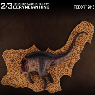 [REBOR] 리보 테논토사우루스 공룡피규어