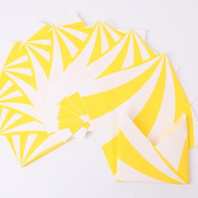 롤리팝 파티냅킨 - 옐로우(20매)