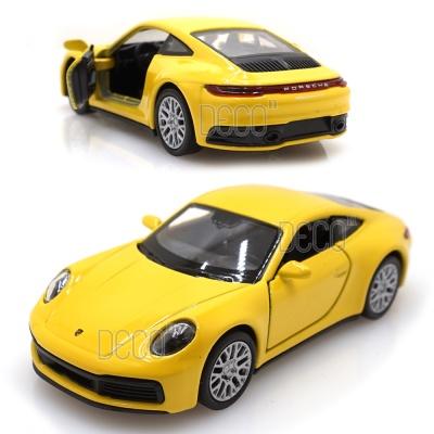 웰리 포르쉐 911 카레라 4S 미니카 풀백 다이캐스트