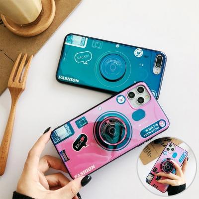 갤럭시s21/ultra/s21+ 빈티지 카메라 그립톡 폰케이스