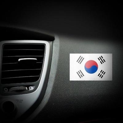 차량용 튜닝용품 태극기 스티커 12P