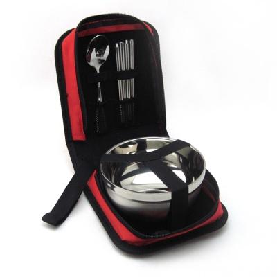 캠핑랜드 휴대용 수저 식기 1인 캠핑용품 야외용그릇