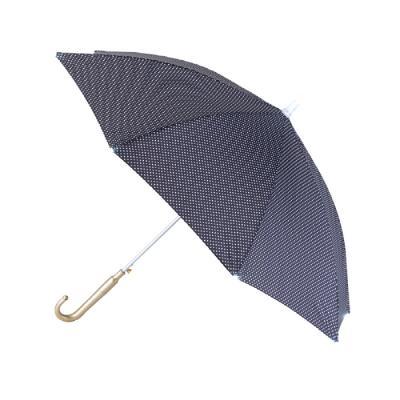 세이프가드 성인용 LED 우산 땡땡이 검은색