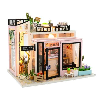 [adico]DIY 미니어처 하우스 - 뮤직스튜디오