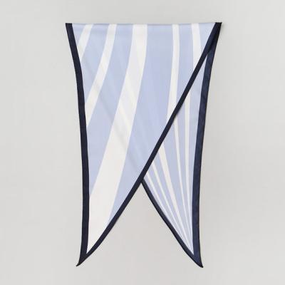 Paper Stripe Diamond Scarf