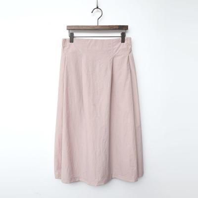 Nylon Cotton Full Long Skirt